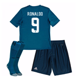 2017-18 Real Madrid Third Mini Kit (Ronaldo 9)