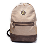 ASSASSIN'S CREED Origins Crest Logo Basic Style Backpack, Tan/Brown