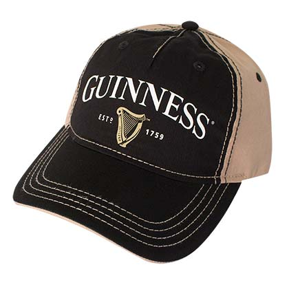 GUINNESS Two-Tone Strap Back Hat
