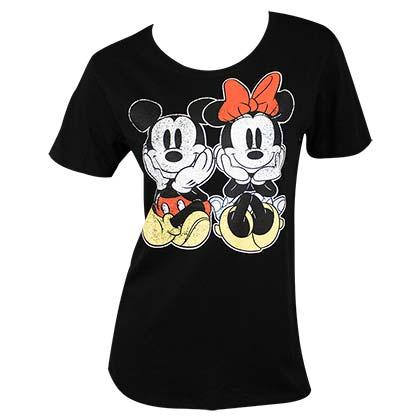 Disney Femme Minnie Mouse Split Kiss Sweat-Shirt