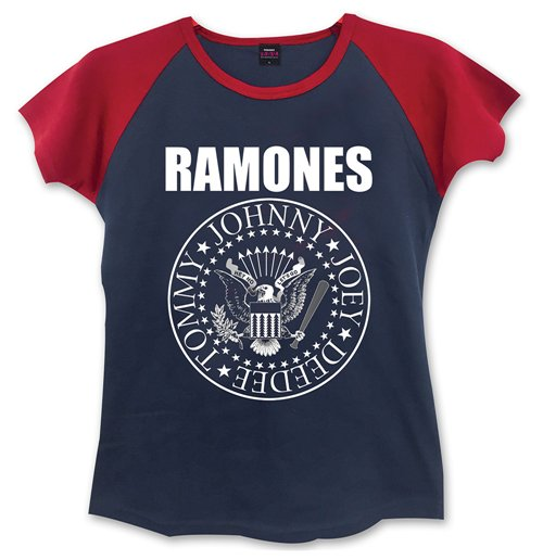 Ramones - Presidential Seal Women's T-shirt (Blue/Red)