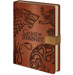 Game Of Thrones - Sigils A5 Notebook