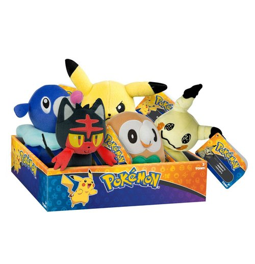Pokemon Plush Figures 20 cm D16 Display (6)