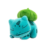 Pokemon Plush Figure Sleeping Bulbasaur 16 cm