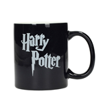 Harry Potter Mug Logo B&W