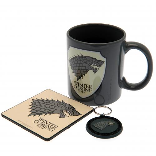 Game Of Thrones Mug & Coaster Set Stark