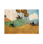 Sam Toft Just One More Hill Print
