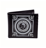 MARVEL COMICS Black Panther 'Made in Wakanda' Bi-fold Wallet, Black