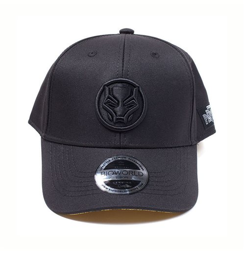 Buy MARVEL COMICS Black Panther Logo Patch Curved Bill Baseball Cap ... 825a64cf1e63