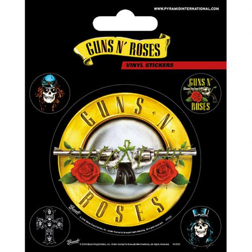 Guns N Roses Stickers