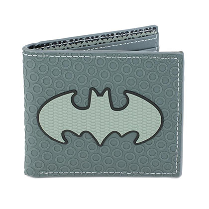 BATMAN Logo Grey Bifold Wallet