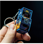 Space Invaders 3D Key Ring Arcade Machine 6 cm