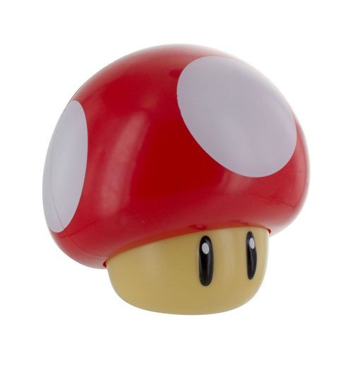 Super Mario Mini Light with Sound Mushroom 12 cm