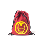 Marvel - Iron Man Rubber Print Gymbag