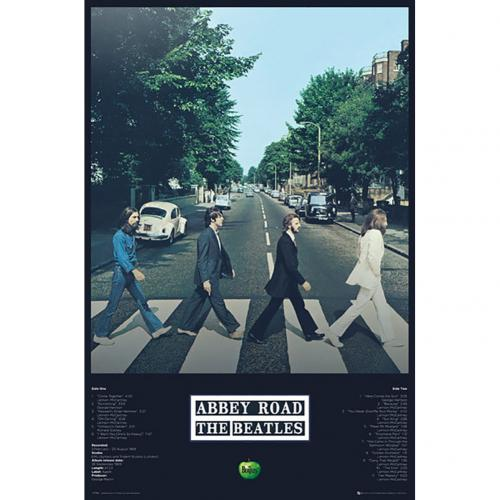 The Beatles Poster Abbey Road 264