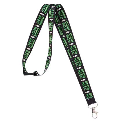 Rick And Morty OOOH WEEE Logo Lanyard