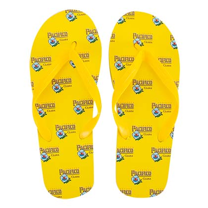 PACIFICO Men's Yellow Flip Flops
