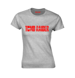 Tomb Raider T-shirt Logo (GREY)