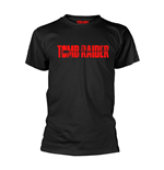 Tomb Raider T-shirt Logo (BLACK)