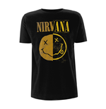 Nirvana T-shirt Spliced Smiley