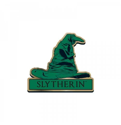 Harry Potter - Slytherin Sorting Hat Enameled Pin Badge