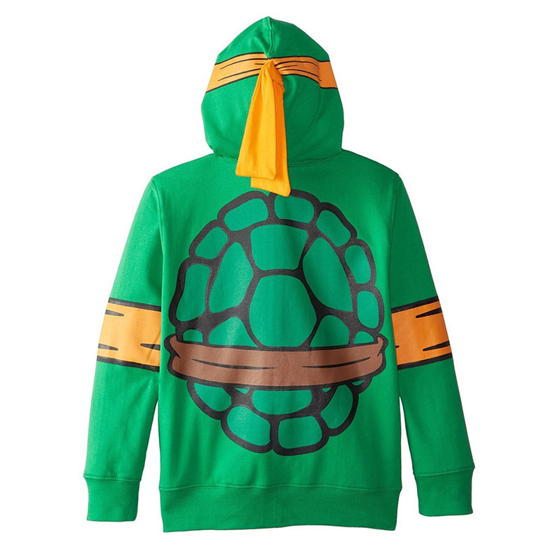 TEENAGE MUTANT NINJA TURTLES Michelangelo Youth Costume Hoodie