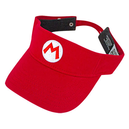 Super MARIO Bros. Logo Red Visor