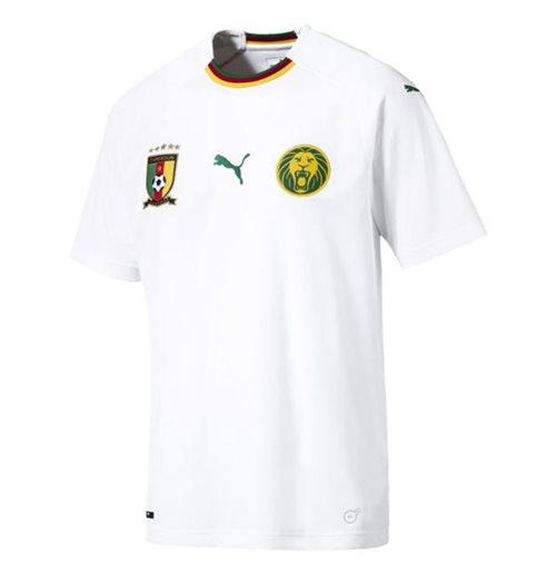 58673bf39e Buy Official 2018-2019 Cameroon Away Puma Football Shirt