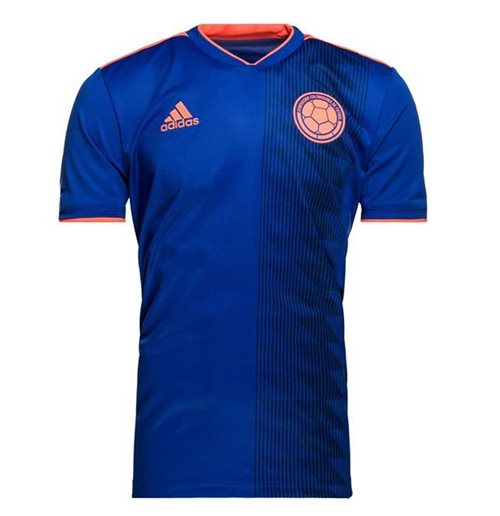 2018-2019 Colombia Away Adidas Football Shirt
