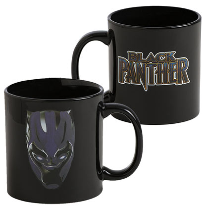 BLACK PANTHER Heat Reveal Coffee Mug