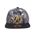 MARVEL COMICS Avengers Infinity War Heroes All-over Print Snapback Baseball Cap, Multi-colour