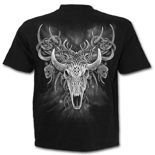 Horned Spirit - T-Shirt Black