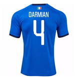 2018-19 Italy Home Shirt (Darmian 4) - Kids