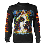 Def Leppard Long Sleeves T-shirt Hysteria