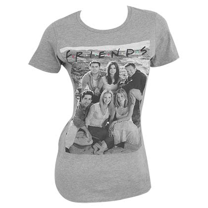 0d8110318 Official FRIENDS Cast Grey Women's T-Shirt: Buy Online on Offer