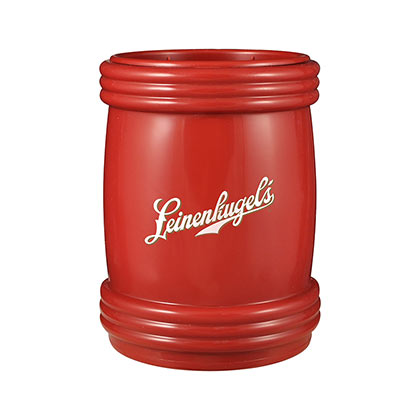 LEINENKUGEL's Magnetic Logo Red Can Cooler Holder