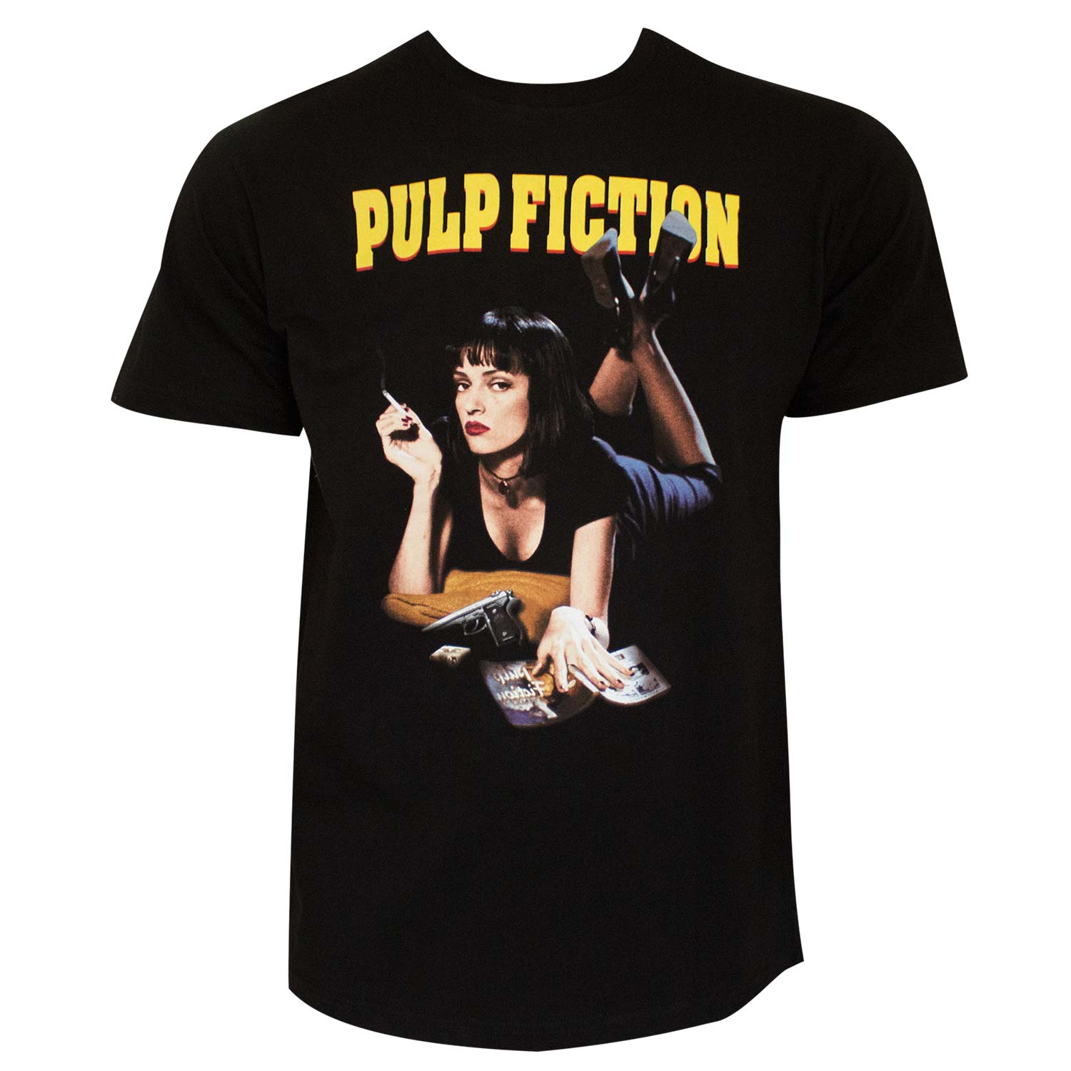 PULP FICTION Mia Men's Black T-Shirt