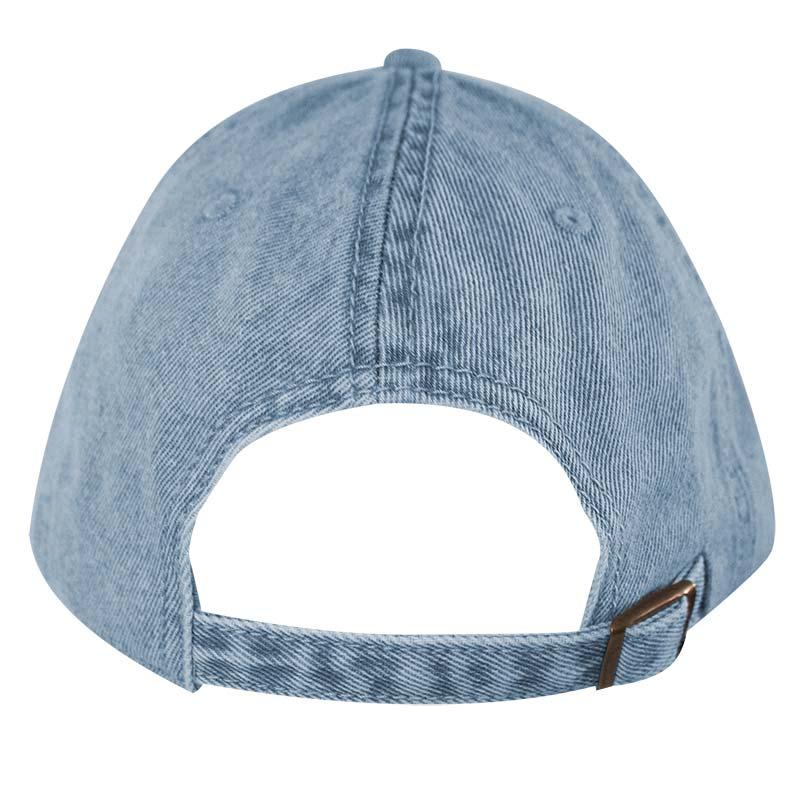 6440a5efc COCA-COLA Coke Distressed Light Blue Embroidered Denim Adjustable Hat