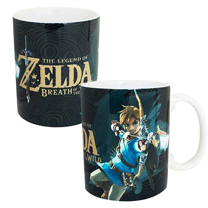 The LEGEND OF ZELDA Link Breath Of The Wild 11oz Coffee Mug