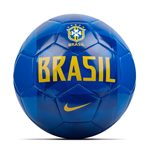 2018-2019 Brazil Nike Supporters Football (Blue)