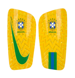 2018-2019 Brazil Nike Mercurial Lite Shinpads (Yellow)