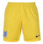 2018-2019 England Nike Home Goalkeeper Shorts (Yellow)