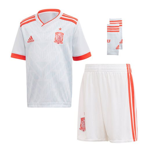 2018-2019 Spain Away Adidas Mini Kit
