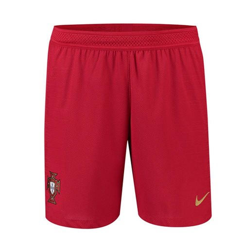 2018-2019 Portugal Nike Home Vapor Match Shorts (Red)
