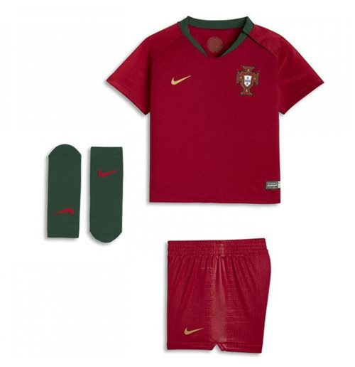 2018-2019 Portugal Home Nike Baby Kit