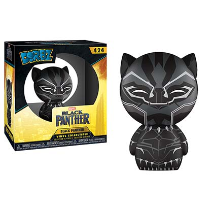 BLACK PANTHER Funko Dorbz Vinyl Figure Toy