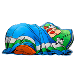 Asterix Pillow Sleeping Obelix 45 cm