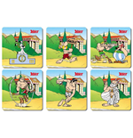 Asterix Coaster 6-Pack Olympic Games