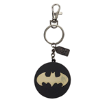 Justice League Metal Keychain Batman Golden Logo