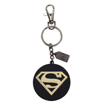 Justice League Metal Keychain Superman Golden Logo